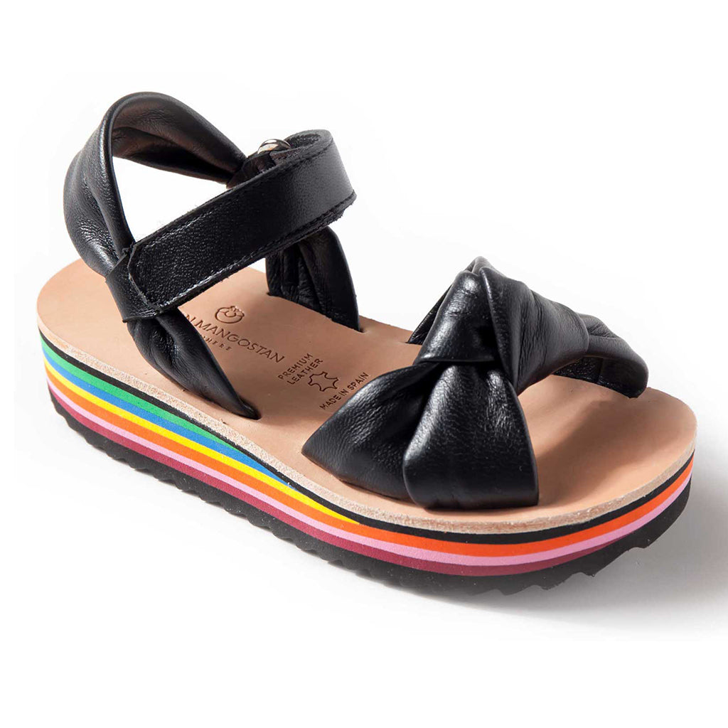 MAISON MANGOSTAN - Abacate Leather Sandal