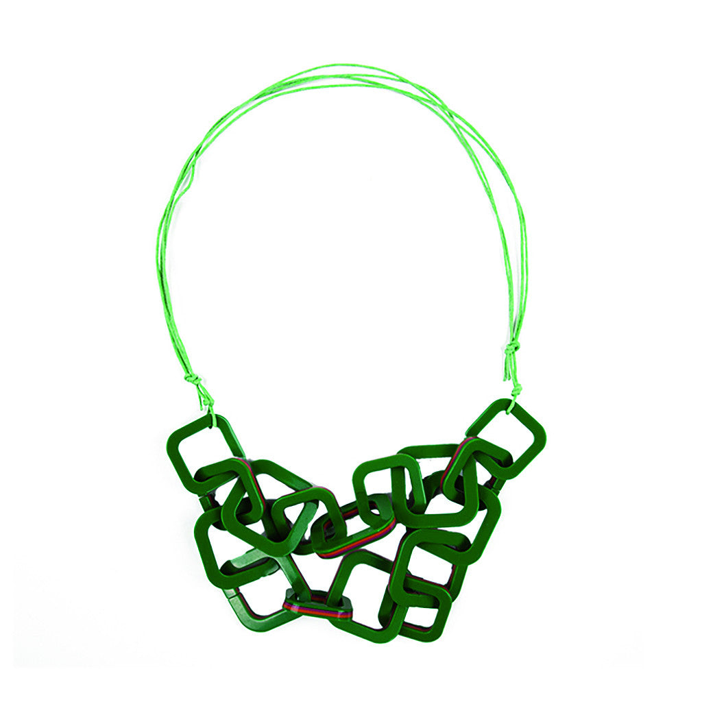 MISS L. RAY -Cubik Necklace