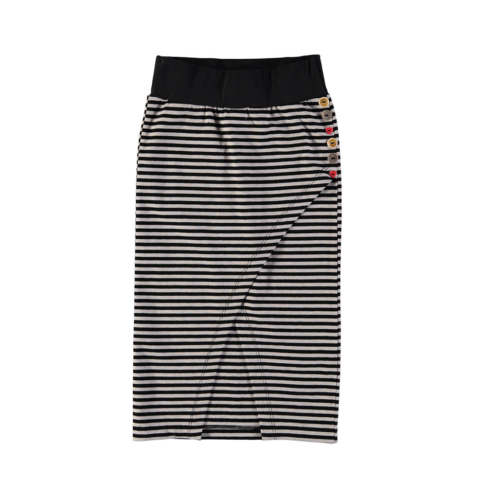 NONO - Nomo Long Striped Skirt