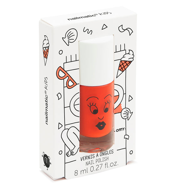"NAILMATIC - ""Dori"" Orange Nail Polish"