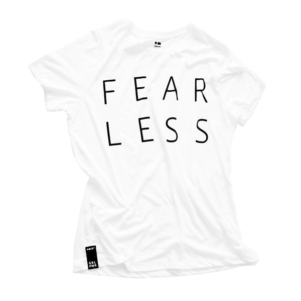 "LIMITED EDITION - OMAMIMINI - GRL PWR Capsule Collection - Adult  ""Fearless"" Tee"