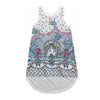 PAPER WINGS - Tattoo Print Singlet Dress