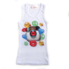 "PENELOPE WILDBERRY - ""Instapower"" Poly Rib Tank"
