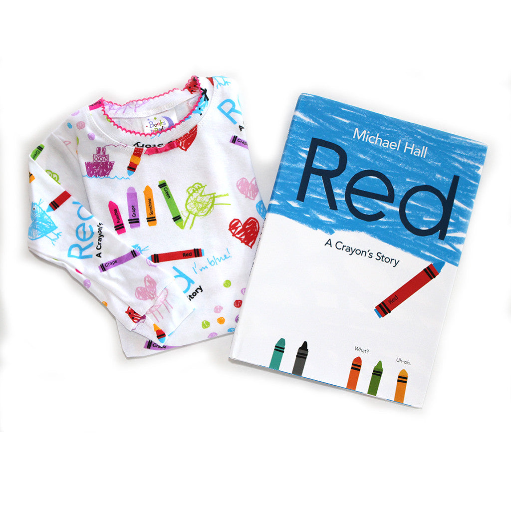 "BOOKS TO BED - ""Red: A Crayon's Story"" Pajamas & Book Set"