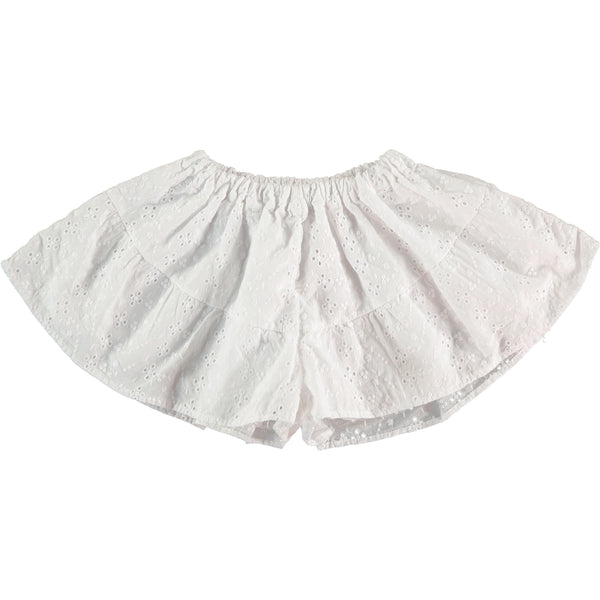 TOCOTO VINTAGE - Swiss Embroidered Shorts