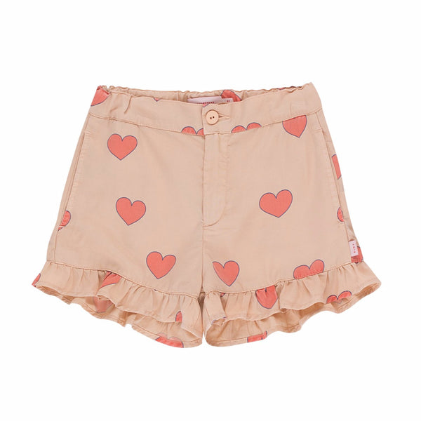 "TINYCOTTONS - ""Hearts"" Frills Short"