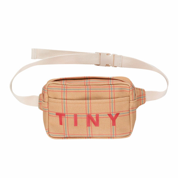 "TINYCOTTONS - ""Check"" Fanny Bag"