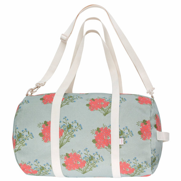 "TINYCOTTONS - ""Flowers"" Barrel Bag"