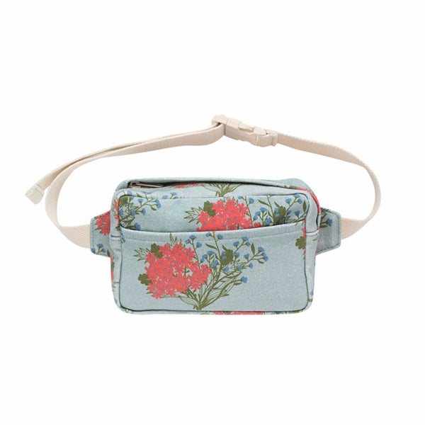 "TINYCOTTONS - ""Flowers"" Fanny Bag"
