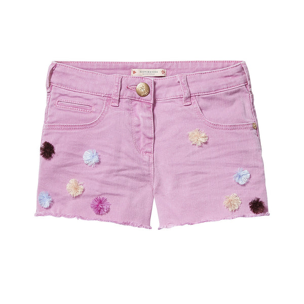 SCOTCH & SODA- Shorts with Pom Poms