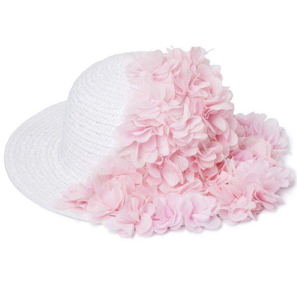STELLA COVE - Chiffon Flower Hat