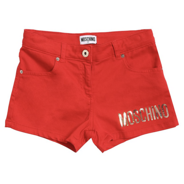 MOSCHINO - Embroidered Shorts