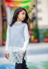 HEACH DOLLS BY SILVIAN HEACH - Bakare Pullover Poncho with Long Sleeve Tee