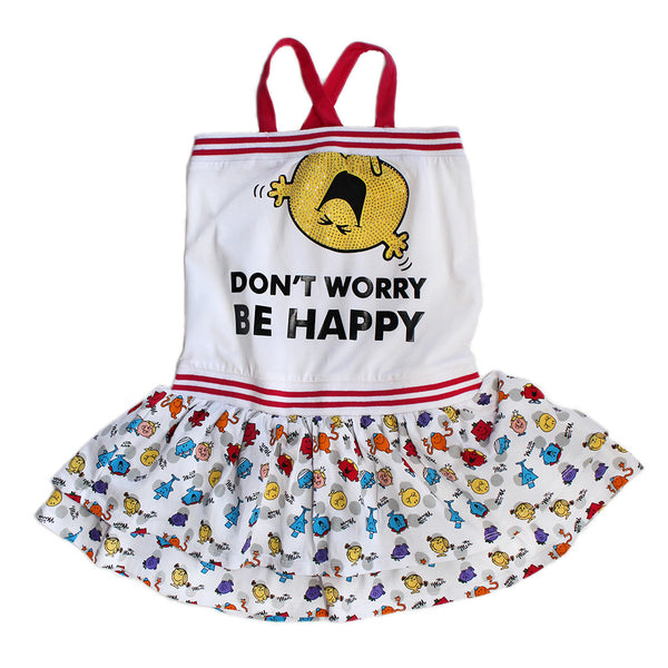 "HEACH DOLLS By SILVIAN HEACH -  Little Miss ""Don't Worry Be Happy"" Dress"