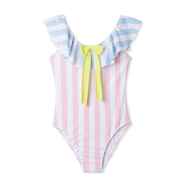 STELLA COVE - Striped One Piece Swimsuit