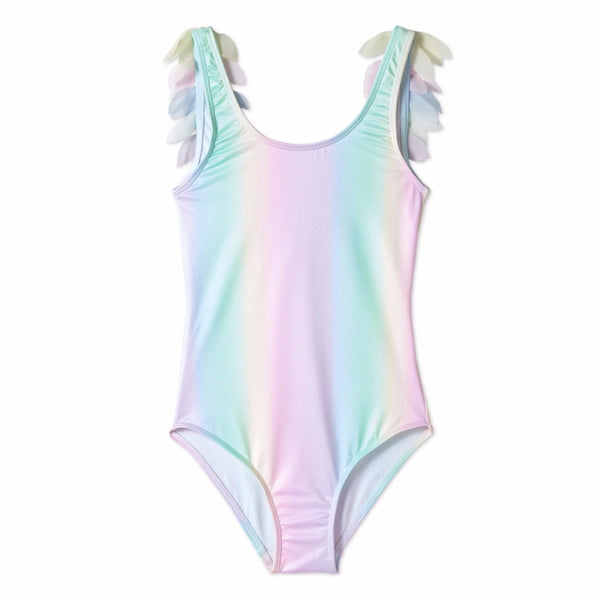 STELLA COVE - Rainbow Unicorn Petals One-Piece Swimsuit