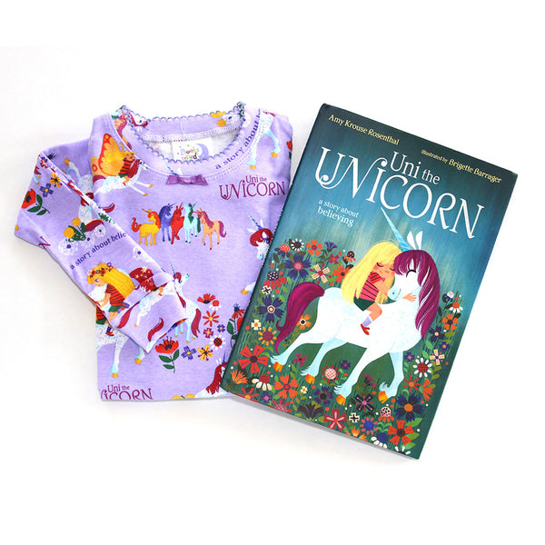"""Uni the Unicorn"" Pajamas & Book Set"