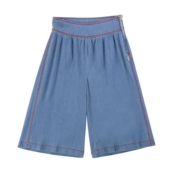 LITTLE MARC JACOBS - Chambray Wide Leg Pant