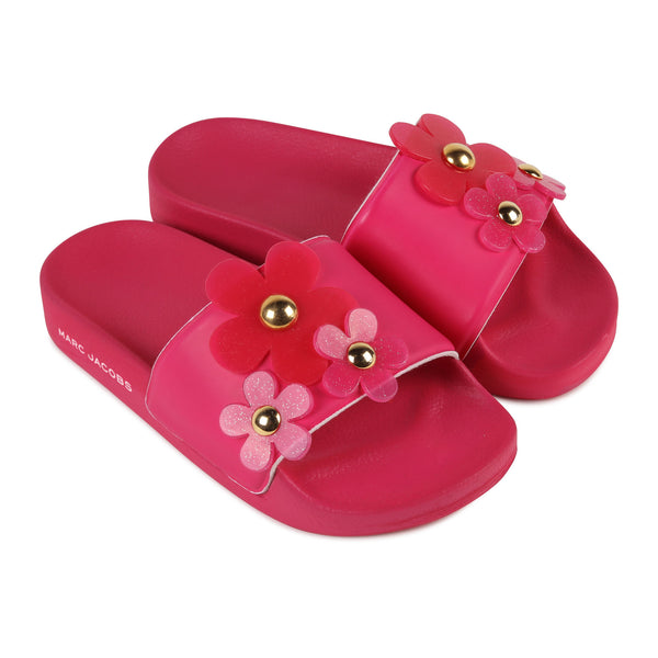 LITTLE MARC JACOBS - Daisy Flip Flops