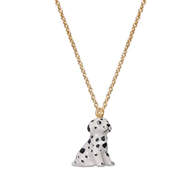 A MINI PENNY - MINIature Spotty Dog Necklace