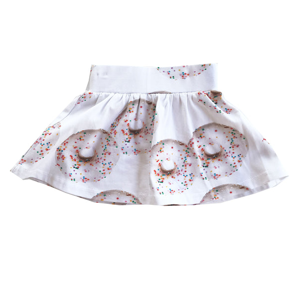 "ROMEY LOVES LULU - ""Donuts"" Printed Skirt"