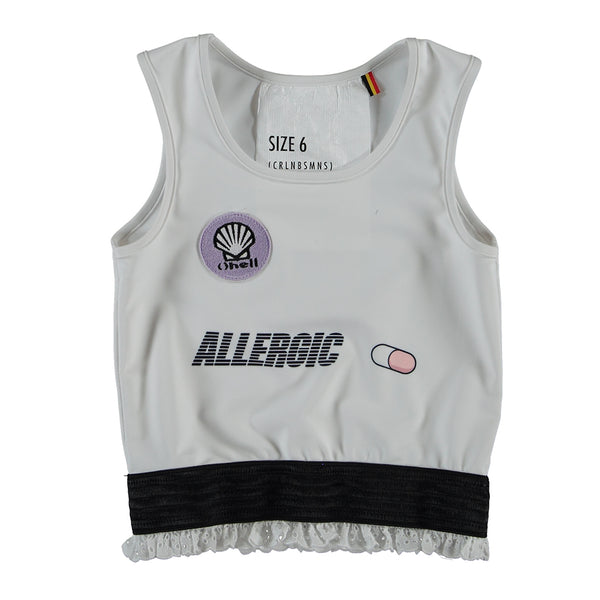 "CAROLINE BOSMANS - ""ALLERGIC"" - ""Antigen"" Sleeveless Top"