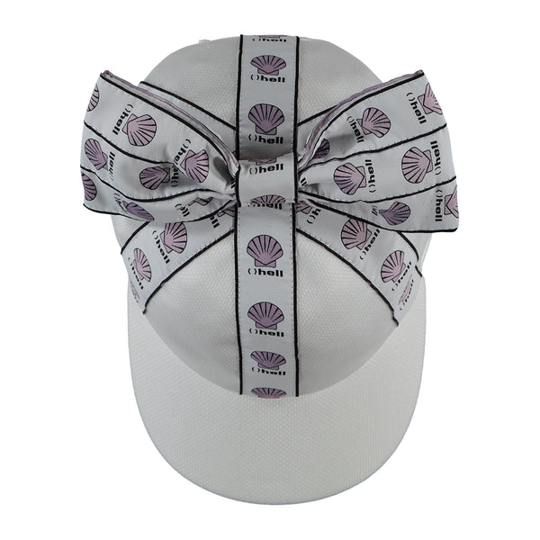 "CAROLINE BOSMANS - ""ALLERGIC"" - ""Symptome"" Cap with Bow"