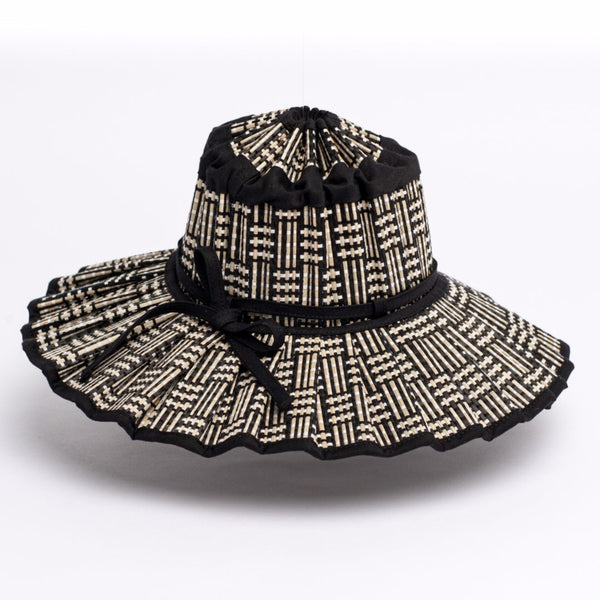 LORNA MURRAY - Black Bamboo Capri Hat