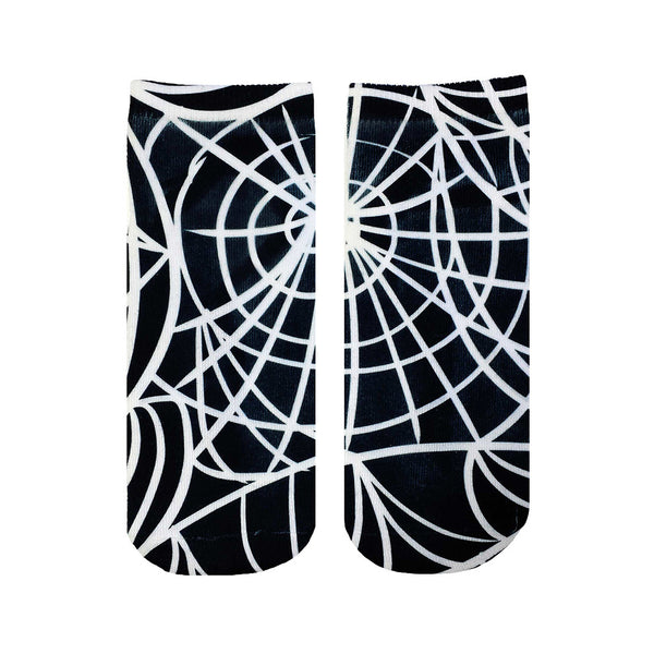 "LIVING ROYAL - ""Cobweb"" Ankle Socks"