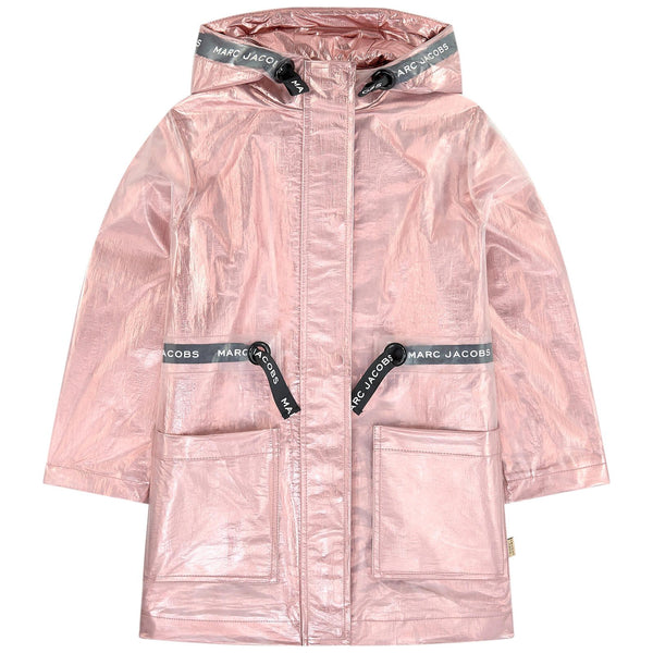 LITTLE MARC JACOBS - Metallic Transparent Raincoat