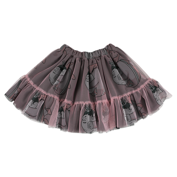"CAROLINE BOSMANS - ""CAROLIFICATION"" - Printed Tulle Mini Skirt"