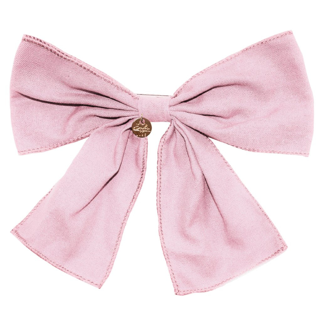HALO LUXE - Ever After Bow Clip in Ballet Slipper - RESTOCKED!