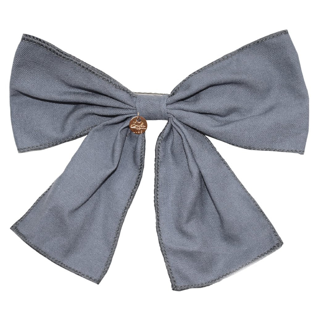 HALO LUXE - Ever After Bow Clip in Cloud
