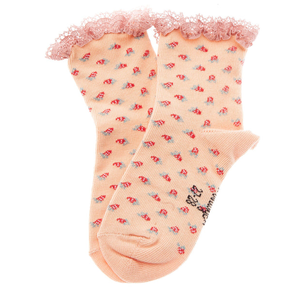 TOCOTO VINTAGE - Strawberry Socks