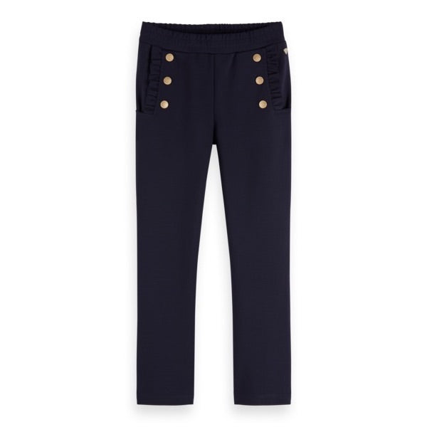 SCOTCH & SODA - Sailor Pants with Ruffle