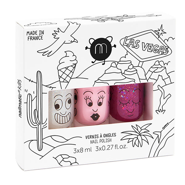 "NAILMATIC - ""Las Vegas"" Nail Polish Set"
