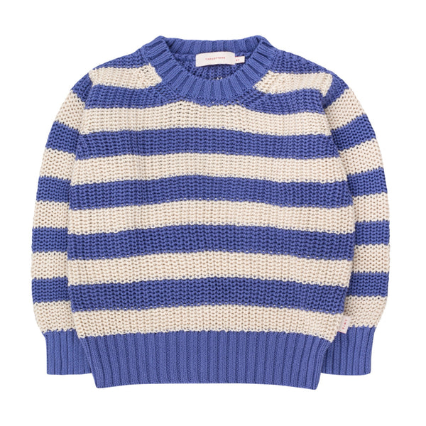 TINYCOTTONS - Stripes Sweater - IRIS BLUE