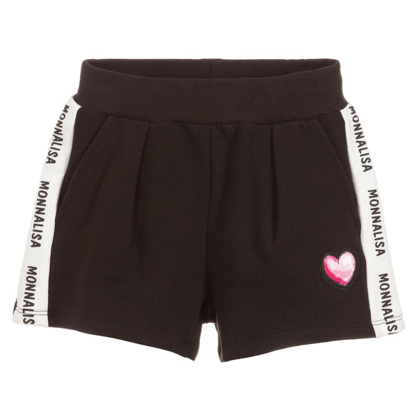 MONNALISA - Logo Cotton Shorts