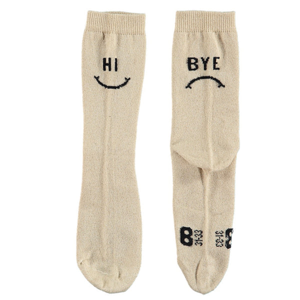 "BEAU LOVES - Jacquard ""Hi/Bye"" Socks"