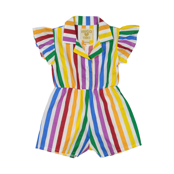 HUGO LOVES TIKI  - Ruffle Romper