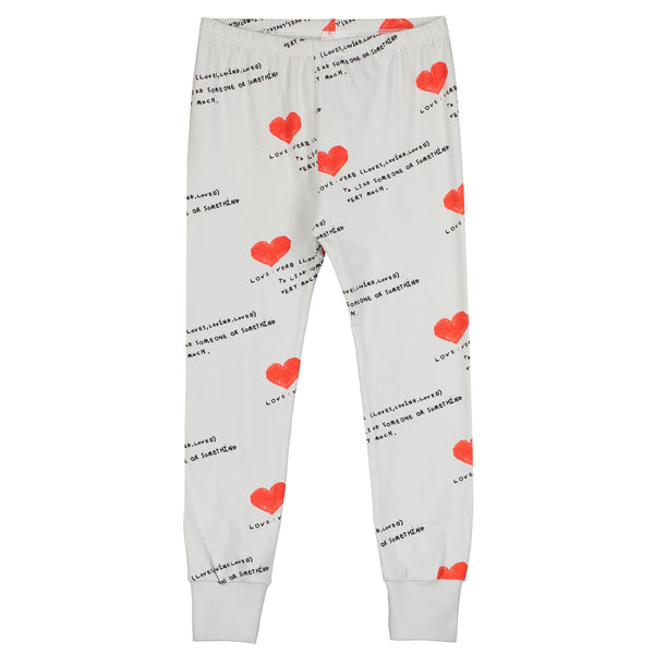 "BEAU LOVES - ""I Heart You"" Slim Pants"