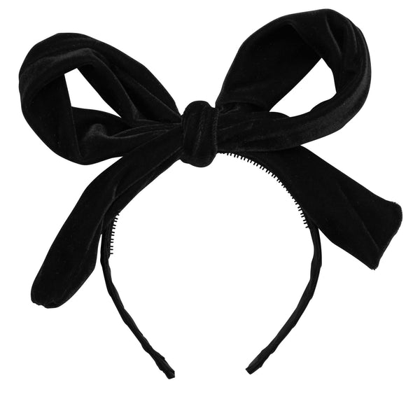 Project 6 - Party Bow Velvet Headband
