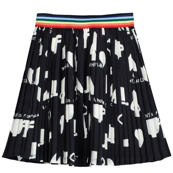 "BEAU LOVES - ""Wonderland"" Pleated Mini Skirt"