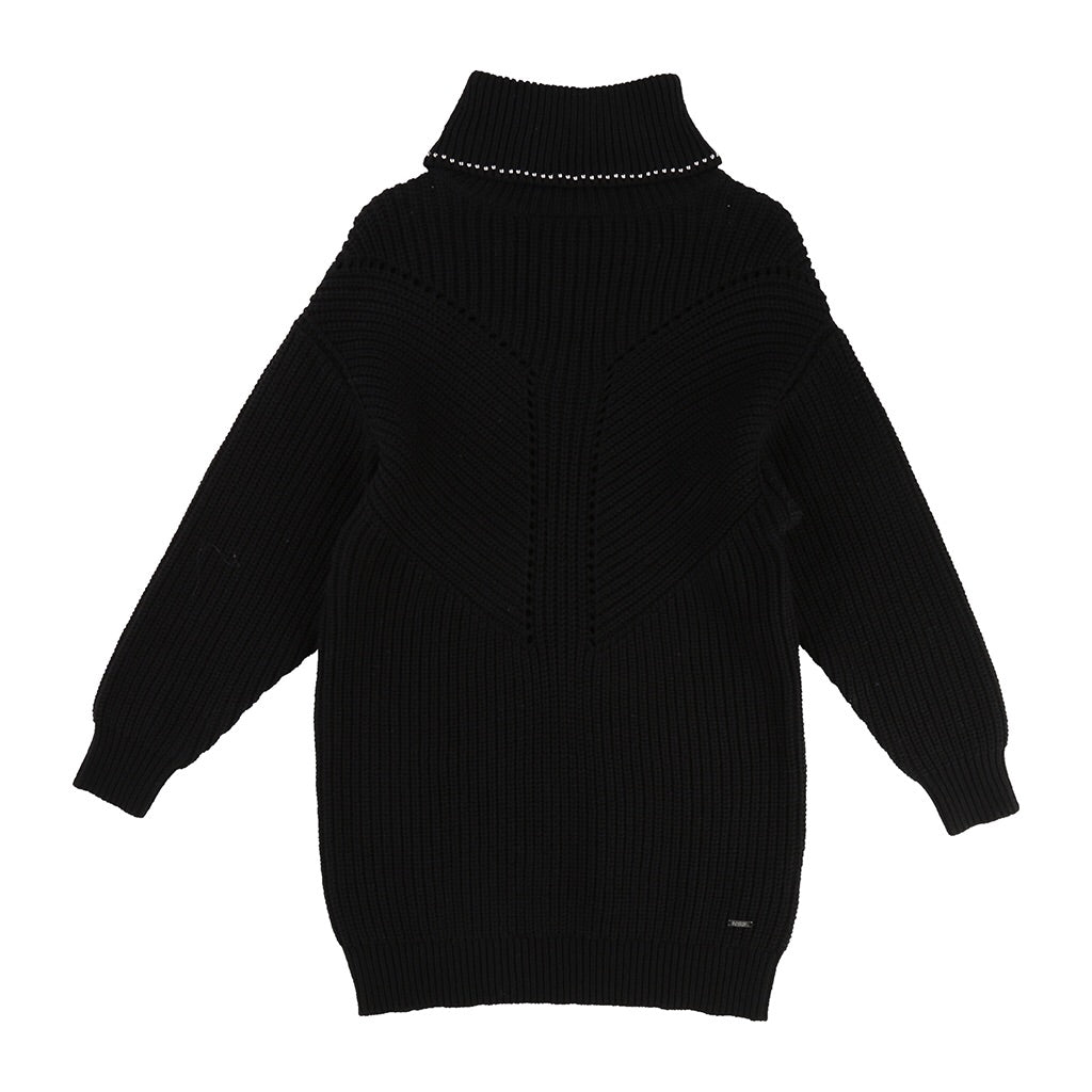 KARL LAGERFELD KIDS - Turtleneck Sweater Dress
