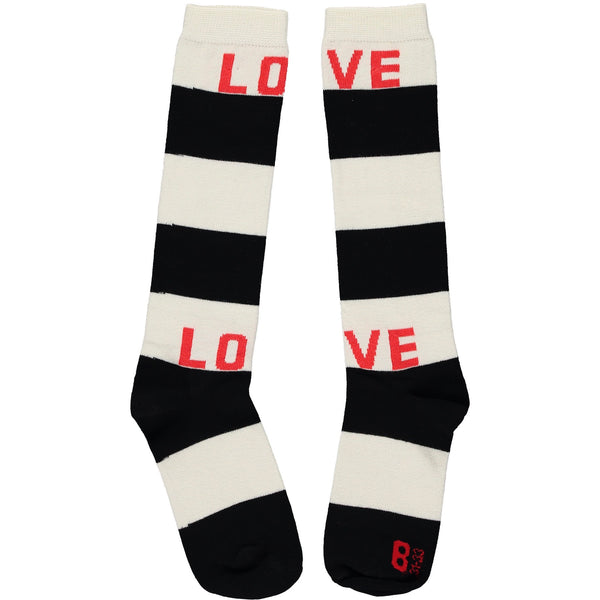BEAU LOVES - Striped Knee Socks