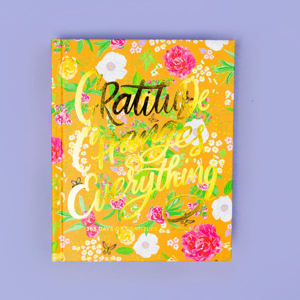 "TAYLOR ELLIOTT DESIGNS - ""Gratitude Changes Everything"" - 365 Days of Journaling"