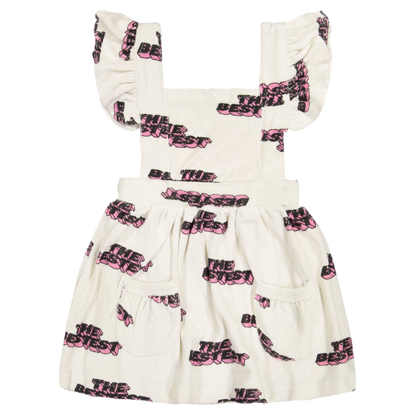 HUGO LOVES TIKI  - Terry Ruffle Play Dress