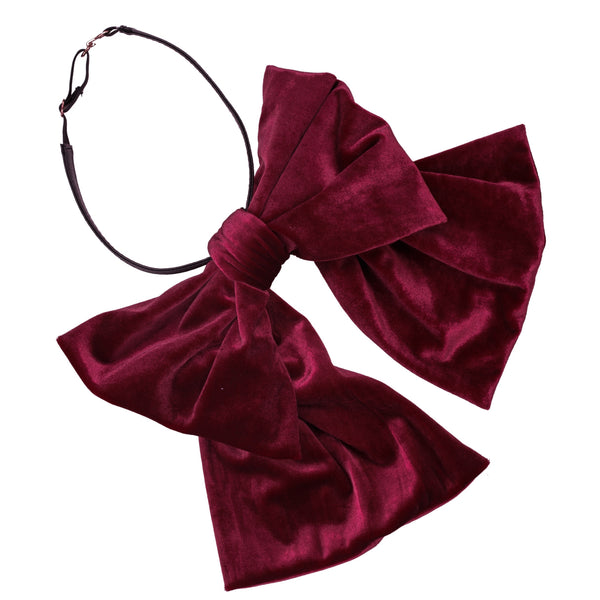 Project 6 - Amira Velvet Bow Necklace