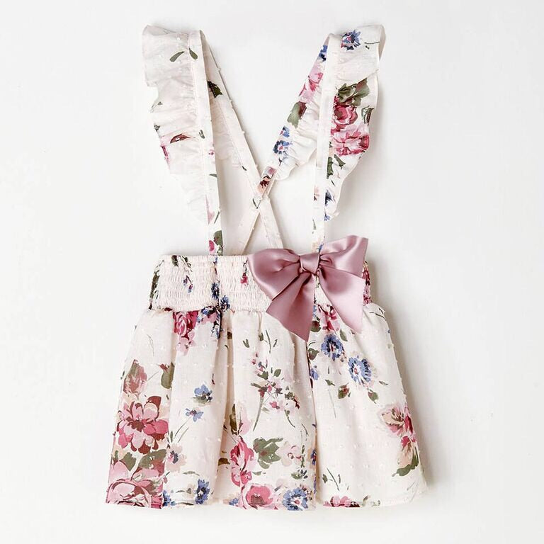 NANOS - Floral Apron Skirt/Dress