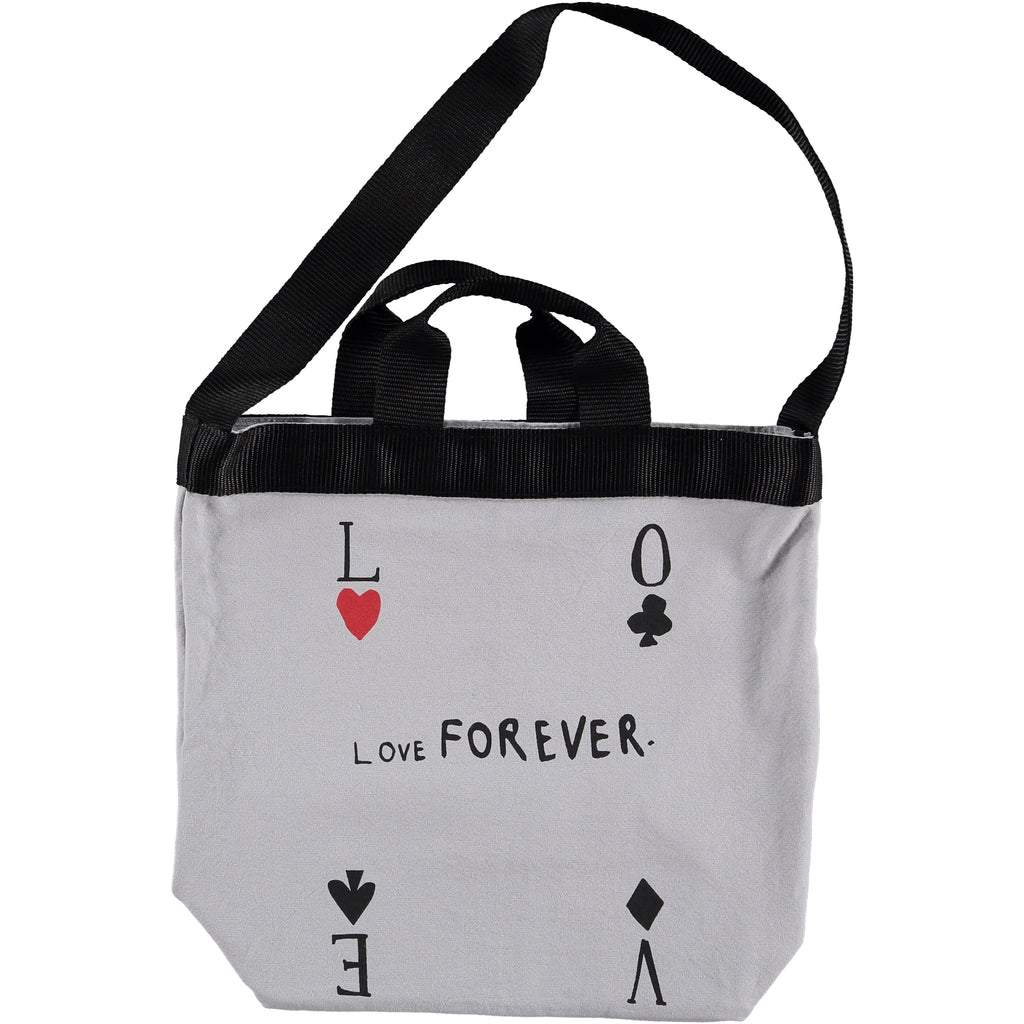 "BEAU LOVES - ""Love Forever"" Canvas Tote Bag"